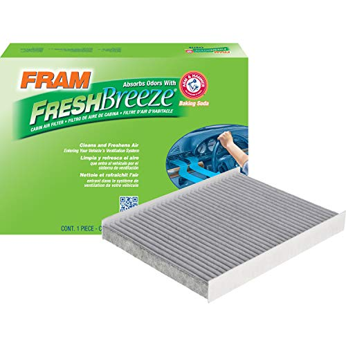 FRAM Fresh Breeze Cabin Air Filter with Arm & Hammer Baking Soda, CF12161 for Kia Vehicles