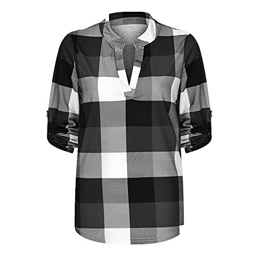 N\P Camisa de manga larga casual de algodón de las mujeres camisa de la chaqueta delgada de las mujeres