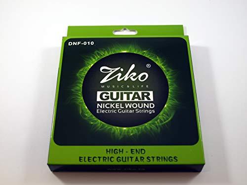 011-050 Custom Light 2 Juegos de 6 cuerdas marca ZIKO para guitarra acustica MOD DAG-011 Calibre