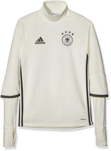 adidas Herren Langarmshirt UEFA EURO 2016 DFB Trainingsoberteil, Weiß, XS