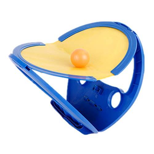 Stobok - Juego de pelotas de pádle, juguete interactivo para padres e hijos, para la playa y el tribunal, juegos al aire libre, color azul