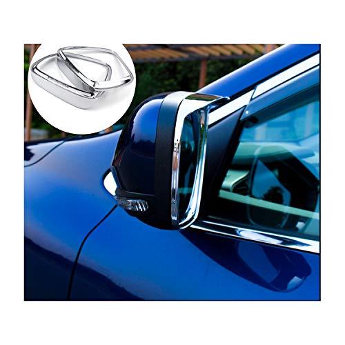 LFOTPP Auto Rückspiegel Regen Augenbrauen Rain Eyebrow Visier Shade für Kadjar Spiegelabdeckungen