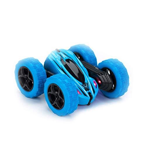 WGFGXQ Coche de Control Remoto, vehículos acrobáticos giratorios de 360 °, orugas de Doble Cara, Hobby, Coches RC de 2,4 GHz, Carreras de Alta Velocidad, Todoterreno, camión Monstruo para niños,