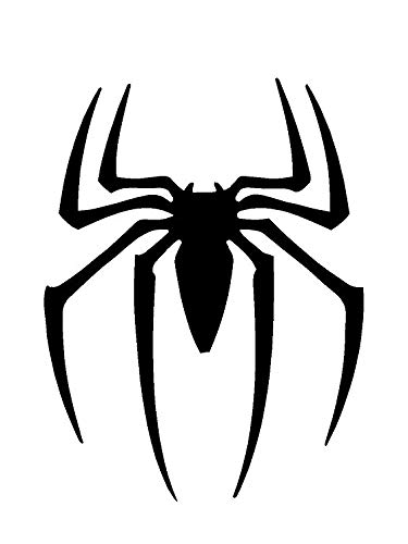A5Schablone–Marvel Spiderman Symbol, Airbrush, Wand-Kunst, aus Mylar, Schablone, wiederverwendbar, 125µm