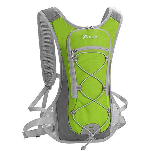 ZZKHSM Mochila de senderismo de 20 L, ligera, transpirable, de secado rápido, ultraligera (UL) al aire libre, pesca, senderismo, ciclismo, verde