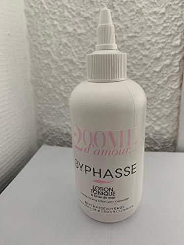 x 3 Lotions toniques BYPHASSE à l' eau de rose (3 x 200 ml)