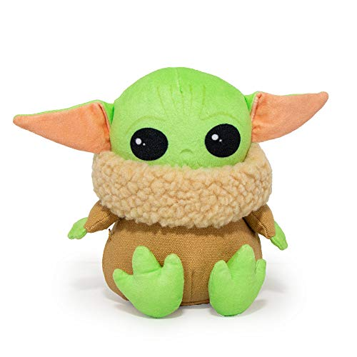 Buckle-Down Dog Toy, Mandalorian, Baby Yoda, Plush Star Wars The Child Sitting Pose
