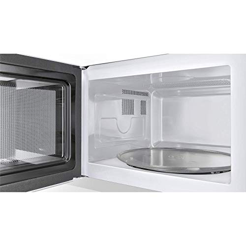41gf09v2SQL. SS500  - Bosch HMT72G450B Serie 4 Freestanding 800W Microwave Oven with Grill - Brushed Steel