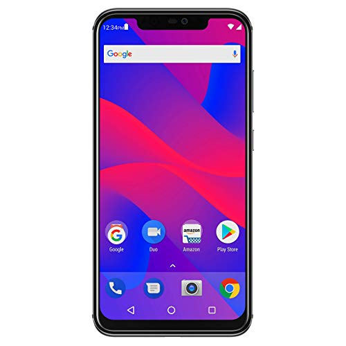 "BLU VIVO XI+ - 6.2"" Full HD+ Display Smartphone, 128GB+6GB RAM, AI Dual Cameras -Black (Renewed)"
