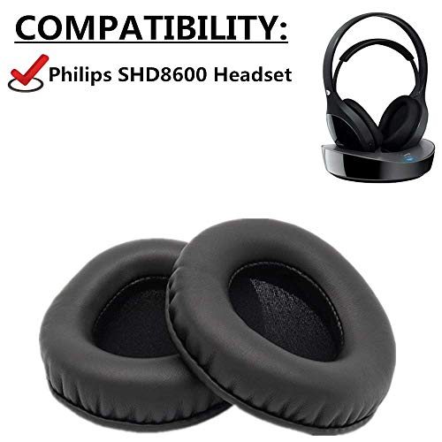 Ersatz-Ohrpolster für Philips SHD8600 SHD 8600 Headset Ohrenschützer Paar