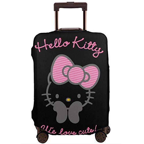 Funda para equipaje de viaje, diseño de Hello Kitty Love Lindo Maleta, lavable, 45,7 – 76,7 cm