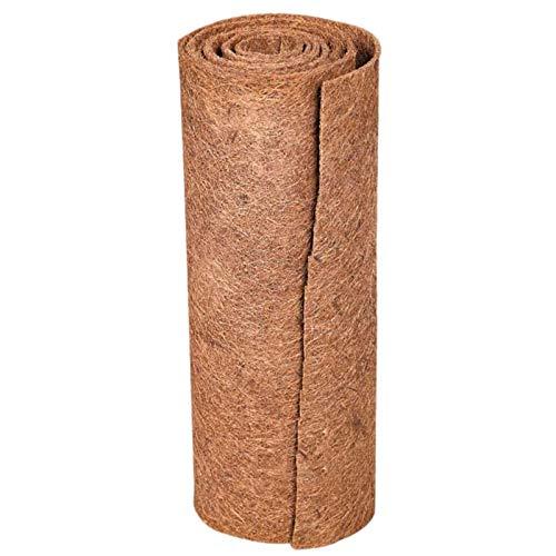 Reptilien Teppich Natürliche Kokosfaser Substrat Schildkröte Teppich Matte Eidechse Käfig Matte Kokos Faser Liner Terrarium Liner Reptilien Zubehör für Bartagamen, Schildkröten, Leguan, Schildkröten
