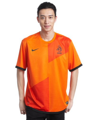 NIKE Netherlands Soccer Orange Home Replica Jersey