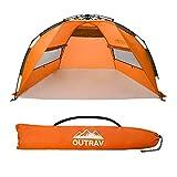 Best Beach Canopy For Winds - Outrav Pop Up Beach Tent - Quick Review