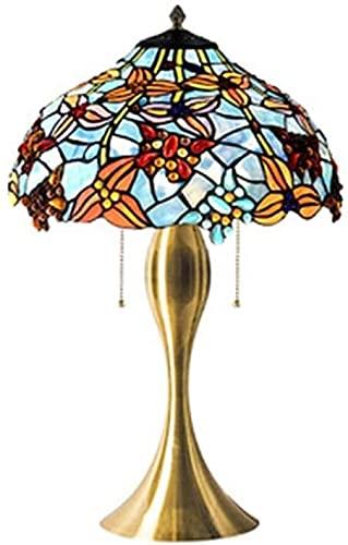 HAO KEAI Lámparas de Mesa Lámparas de Mesa, Modelo de Mariposa Lámpara de Noche con Estilo Lámpara de Noche con Estilo Lámpara de Oficina Base en Art Deco Iron Art