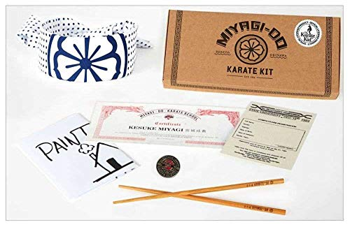 8tees Karate Kid Miyagi-Do Karate School Kit Gadgets