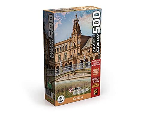 Quebra-cabeças Grow 500 peças: Sevilha (exclusivo Amazon), Multicor
