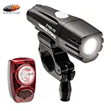 Cygolite Metro 400 Lumen & Hotshot 2W Lumen USB Rechargeable Bicycle Light Combo Set