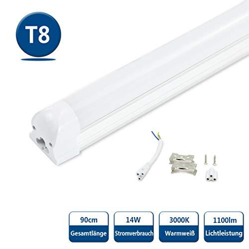 Neonröhre LED Neonlampe Leuchtstofflampe 60 cm 600 mm 1 x Röhre T8 6500K