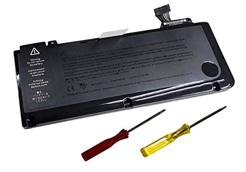 Laptop Battery A1322 A1278 Compatible with Apple MacBook Pro 13 inch [Mid 2009,Mid 2010,Early 2011 to Late 2011,Mid 2012 ] MB991 MB990 MC375 MC374 10.95V 63.5Wh MacBook Pro 13'