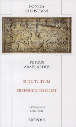 Fontes Christiani (FC), Bd.44 : Scito te ipsum - Ethik