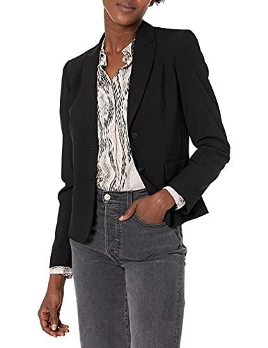 Calvin Klein Women's Two Button Lux…