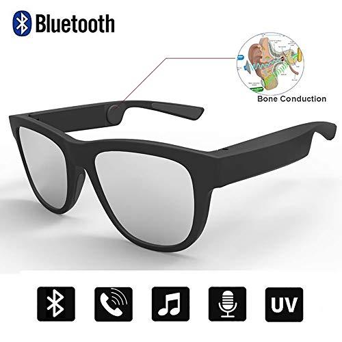 Sonnenbrille, Leitung Bluetooth Knochen Sonnenbrille, Offene Ohr Musik Sprachanrufe Polarisierten Gläser, Kompatibilität Android, iPhone, Tablet, Windows-PC, Mac Fahr