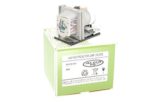 Alda PQ-Premium, Beamerlampe / Ersatzlampe für Dell 2400MP Projektoren, Lampe mit Gehäuse