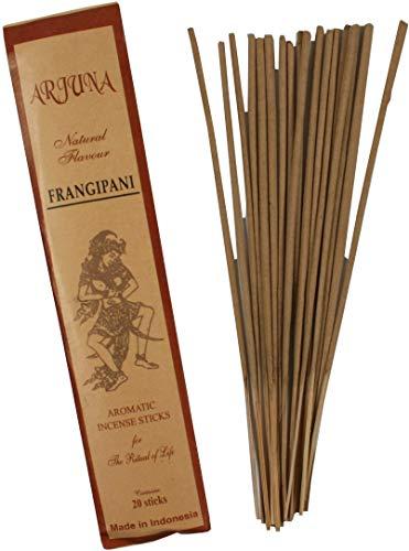 Guru-Shop Bastoncini D`incenso Arjuna - Frangipani Delizioso, Marrone, Bastoncini D`incenso di Bali