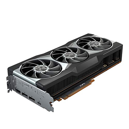 XIKONG AMD ROG RT6900XT 16GB Gráficos, DDR6 2250MHz GPU Tarjeta de Video de bajo Perfil de bajo Perfil Silent Silent Pasivo Ventilador Sistema de refrigeración Juegos de co