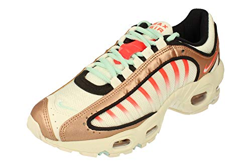 Nike Air MAX Tailwind Mujeres Running Trainers CT3427 Sneakers Zapatos (UK 3 US 5.5 EU 36, Metallic Red Bronze Teal Tint 900)