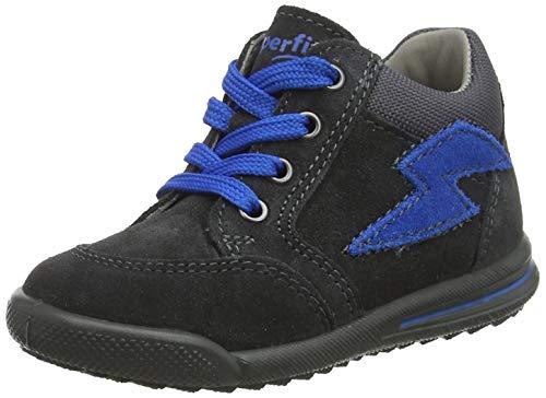 Superfit Baby Jungen Avrile Mini 509370 Sneaker, Grau (Grau 20), 25 EU