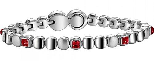 Breil Damen-Armreif Rolling Diamonds Edelstahl 21 cm - TJ1454