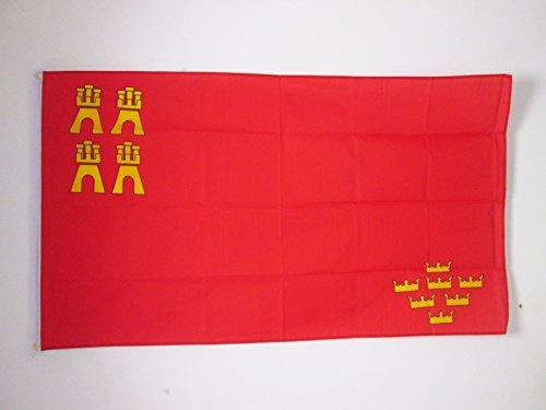 AZ FLAG Bandera de la REGIÓN DE Murcia 150x90cm - Bandera MURCIANA 90 x 150 cm