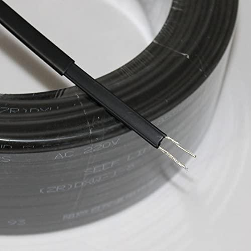 KEPOHK Cable calefactor de deshielo de techo deprotección de tubería de aguaautorregulabletipo cinta de 220V