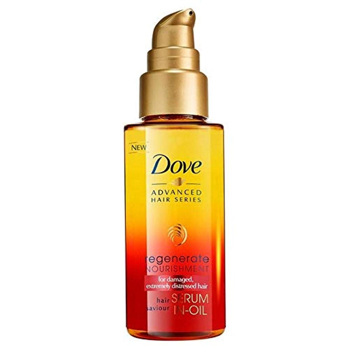 レーザ創造フィクション[Dove ] 鳩高度な髪シリーズは栄養血清中の油中50ミリリットルを再生成します - Dove Advanced Hair Series Regenerate Nourishment Serum-in-Oil 50ml [並行輸入品]