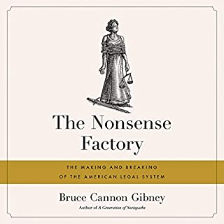 The Nonsense Factory audiobook cover art