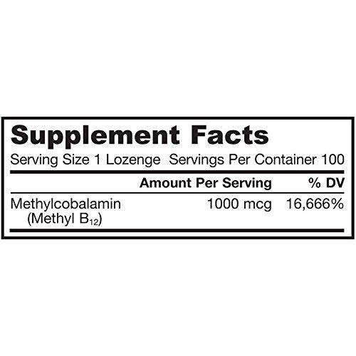 HealthLand メチルB-12 ビタミンB12 1000mcg 100粒