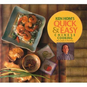 Paperback Ken Hom's Quick and Easy Chinese Cooking Book