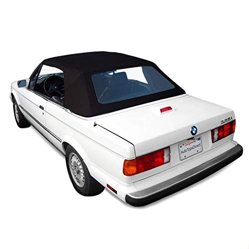 Sierra Auto Tops BMW 1987-1993 3 Series (E30) Convertible Top, Stayfast Canvas, Black