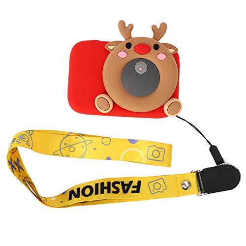 Worii Objekterkennung WiFi-Verbindung Digitalkamera, langlebige Kinder Lernkamera, für Voice Broadcast Kinder