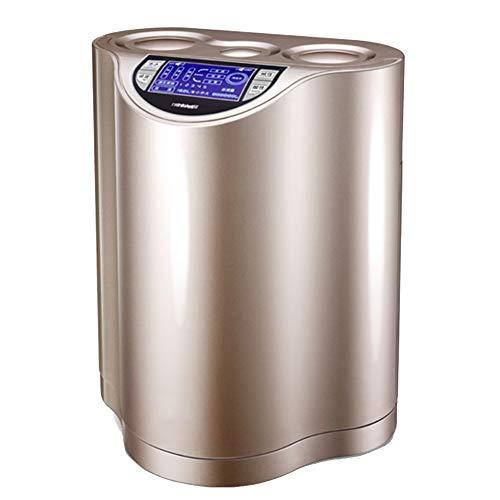 LQQ Das Neue Wasserstoff-Wasser-Machine, PH7.5-10 Schwach Alkalisches 500-1000PPB Eingebaut In Dreistufigen Filterelement 1-3L / Min (Color : Gold)