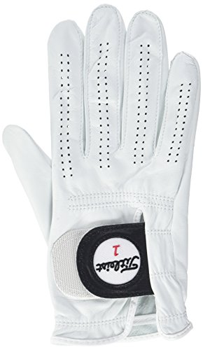 Titleist Players Glove; white; size:L