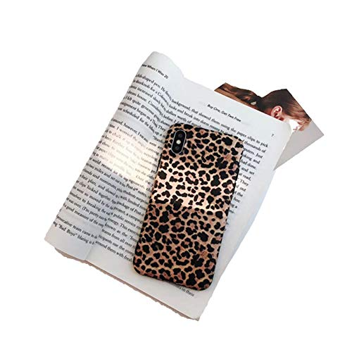 RosyClouds Funda de silicona TPU para iPhone 11 12 Pro Max Mini 8 Plus con estampado de leopardo sexy para iPhone X XR XS Max-Leopard Print-para Se 2020