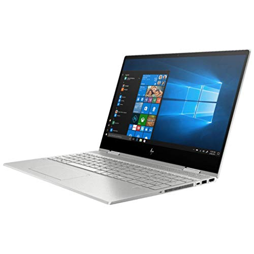 HP Envy x360 Convertible 15.6-inch Full HD Touchscreen, 10th gen Intel Core i7-10510U, 8GB DDR4 Memory, 512GB PCIe NVMe SSD, Natural Silver