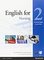 English for Nursing: Level 2 Coursebook with CD-ROM (Vocational English Series)