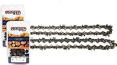 Jeremywell (2 PACK) S40 10 Inch Chainsaw Chain Fits Remington, Craftsman, Poulan, Cub Cadet, Ryobi, Husqvarna, 3/8