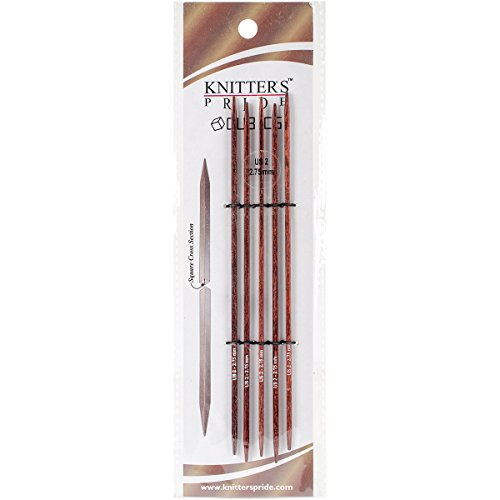 Knitter s Pride 2 2.75mm Cubics Double Pointed Needles, 6