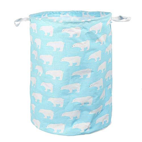 Cesta plegable para la ropa sucia, cesta para la colada, cesta para lavandería, cesta plegable para dormitorio, salón, para mantas, juguetes (tamaño: 38 cm x 43 cm, color: #2)