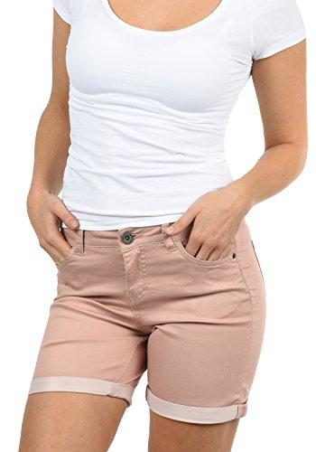 Desires Lila Pantalón Tejano Vaquero Corto Shorts para Mujer Elástico